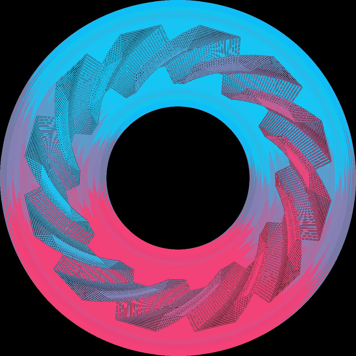 Zigzag vortex design